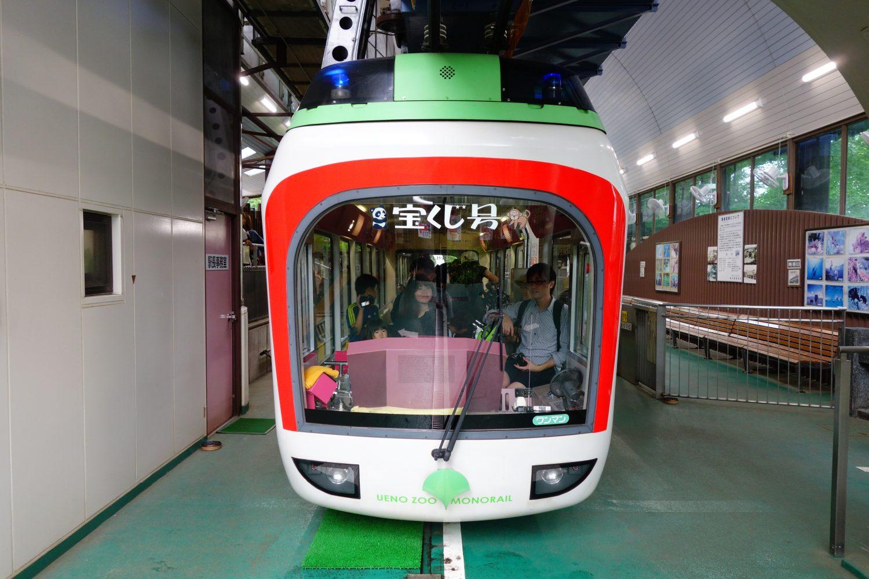 上野動物園のモノレールに乗るなら今!