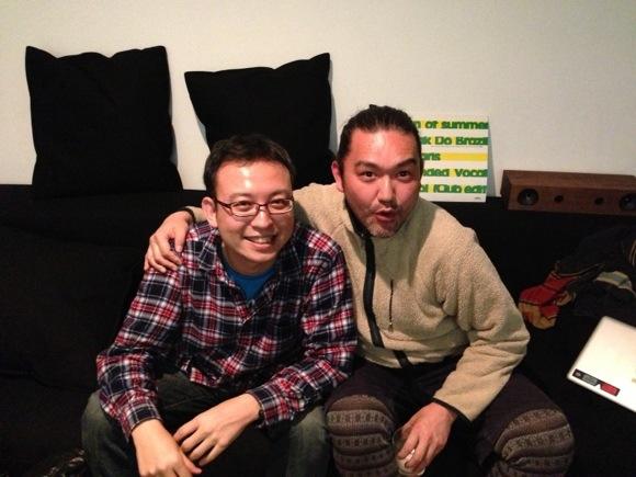 i-dep ナカムラさんのスタジオにて